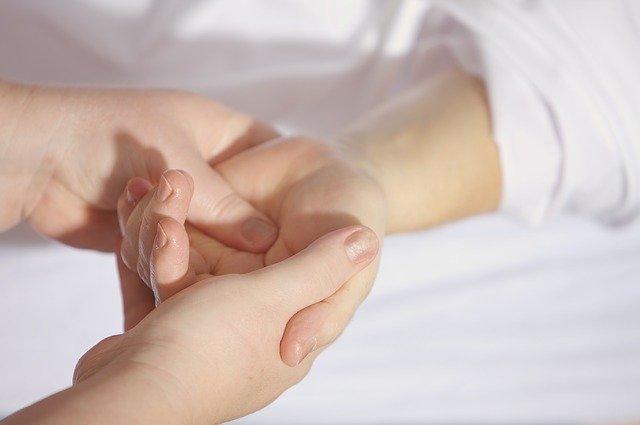 odciski na dłoniach
